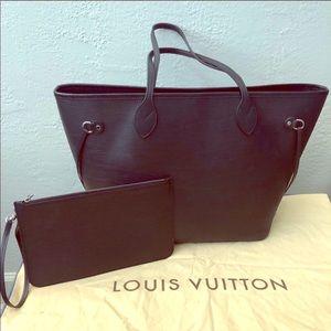 Louis Vuitton Neverfull Epi Noir